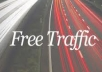deliver you how to get Free Unlimited REAL Traffic-Instant download