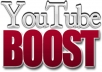 boost your Youtube video with 1000+ views in less than 6 days