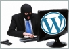 secure your WordPress from Hackers