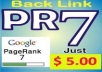 maNUALLY 50 Highpr 2xPR7 Blog Comment PR3 to PR7 DoFollow on Actual Page
