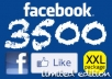 Provide 3500+ Real FACEBOOK Likes to your Facebook FanPage without Admin access