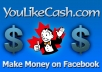 Like Facebook Page and Earn Money
