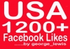 add you 1500+ real looking like facebook fans USA, uk for your facebook fanpage with fast delivery within 20 hours