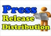 Submit your Press Release to PrBuzz, SBWire, PressDoc and MyPrGenie