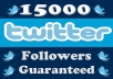 add 25000+ High Quality(not real looking) Twitter Followers To Boost Up Your Followers Count