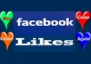 give you 400 to 500 real INDIAN Facebook likes to your fanpage for