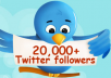 get you top quality 20,000+ real looking, active twitter followers (readers, viewers, fans, subscribers, followerz, readerz, viewerz, fanz, subscriberz) in less than 2 days without admin access