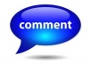 post to your facebook wall  20 to 50+ comments with different accounts from US or Europe