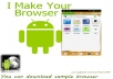 make an android web browser for u