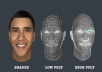 model your face into 3D