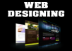 design professional and user friendly website just