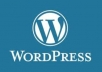 install Wordpress and your theme, necessary plugins
