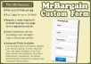 create a Custom Contact FORM That Can Be Used on Any Website