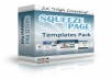 give you 25 squeeze page templates