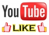 give you 100% real & safe and verified 500+ YouTube video like within 72 hour For your YouTube video