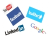 Send you 500+ daily visits from Facebook, Youtube, Twitter for a week