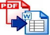 convert/re-write 20 pages of any text documents(pdf,psd,gif,jpg) into word documents
