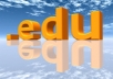 create 100 Permanent Edu Backlinks And Ping Them To Your Website