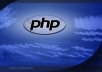 get you html, php website in 3days