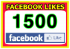 add real and permanent 1500+ USA facebook likes for your website's,blog's,gig's and slide's like button [Facebook Pages Not allowed]