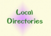 manually list your website or business details in 32 high PR local directories