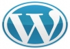 setup wordpress with a premium theme on you webhost.
