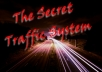 give you the SECRET TRAFFIC methods
