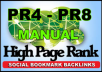 Manually Submit Your Website to 40 PR3 to PR10 Social bookmarking sites