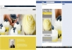 create a website along with a matching facebook business page