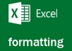 do any ms word and ms excel formatting works