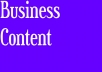 write business content