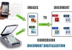 Convert Scanned Papers into Editable Digital Docs