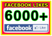 Add 6000+ Facebook Fan Page Likes To Improve your Social media and SEO