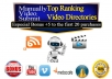 upload your video to 10 high PR video sites Upload your video to 10 high PR video sites