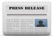 create a high quality press release (500+words) for any company, website or product