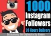 Give Instant 1000 Real Looking Instagram FOLLOWERS Only