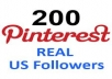 give you 500 pinterest Repins/Followers from different 500 USA profile