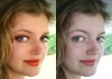 edit your picture using Photoshop