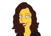 draw you as a Simpsons cartoon