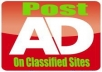 Post 50 Ads on Classified USA Sites