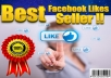 give 800+ Facebook Fan page High Quality Like.(without admine access)