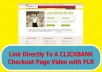 Share With You How To Link Directly To A Clickbank Checkout Page