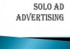 Blast your Solo Ad to 3 Million ACTIVE Responsive List