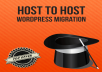 migrate your wordpress blog / site