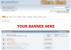 add your banner to my forum, which has 60,000 monthly pageviews, for 30 days