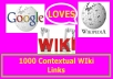 Create 1000 Contextual WIki Links For Your Websites