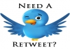 provide you 2000 TWITTER Retweets And Favorites From 2000 Unique Profiles Without Any Admin Access