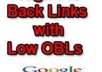 manually do 50 Low OBL 10 PR2, 10 PR3 And 10 PR4 Blog Comments on Actual Page