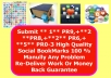 Submit ** 1** PR9,+**2 **PR8,+**2** PR6,+ **5** PR0-3 High Quality Social BookMarks 100 % Manully Any Problem Re-Delivery Work Or Money Back Guarantee