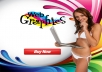 design a Professional Website GRAPHICS in 24 hour buy 1 get 1 free
